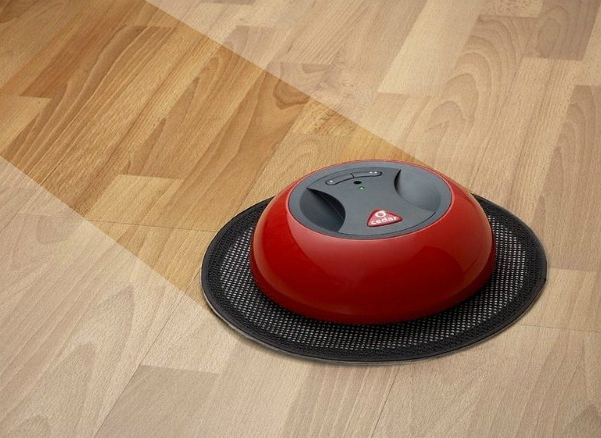 O duster robotic floor sweeper