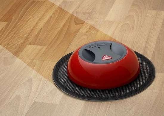 O duster robotic floor sweeper