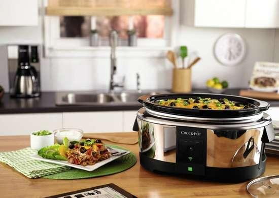 Crock pot 6 quart smart slow cooker