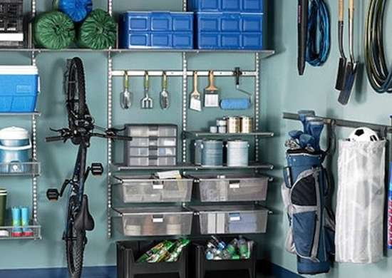 Utility storage system container store