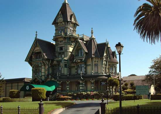 Carson mansion ca