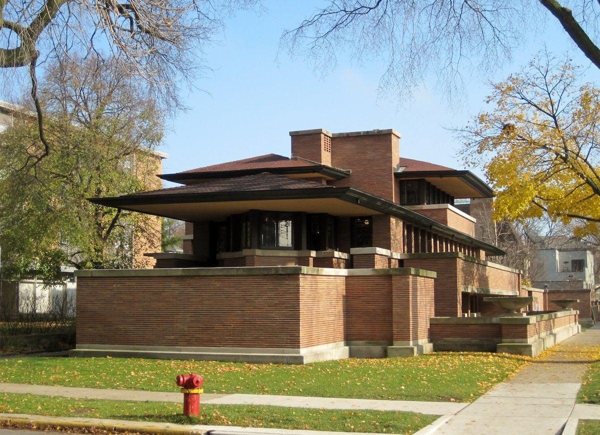 Frederick c robie house