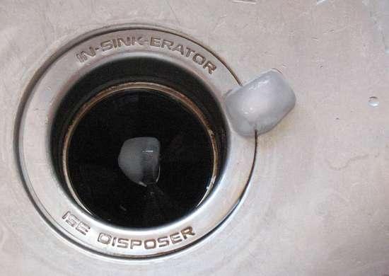 Ice disposal