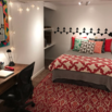 Colorful Basement Bedroom