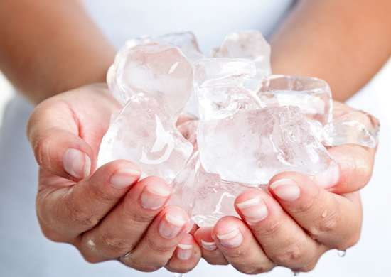 Treat Burns and Bruises with Ice