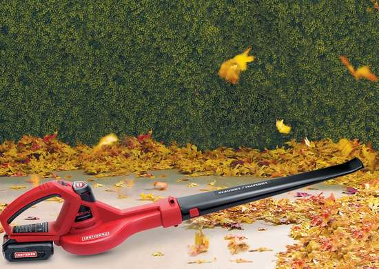 Craftsman Cordless Sweeper