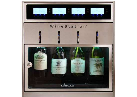 Dacor Discovery Stainless Steel WineStation