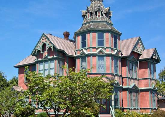 Ann Starrett Mansion in Port Townsend, WA