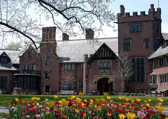 Stan Hywet Hall in Akron, OH