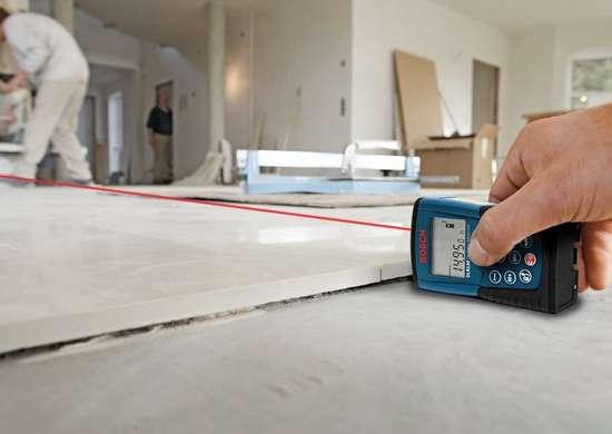 Bosch laser tape measure