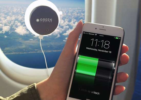GreenLighting Solar Phone Charger