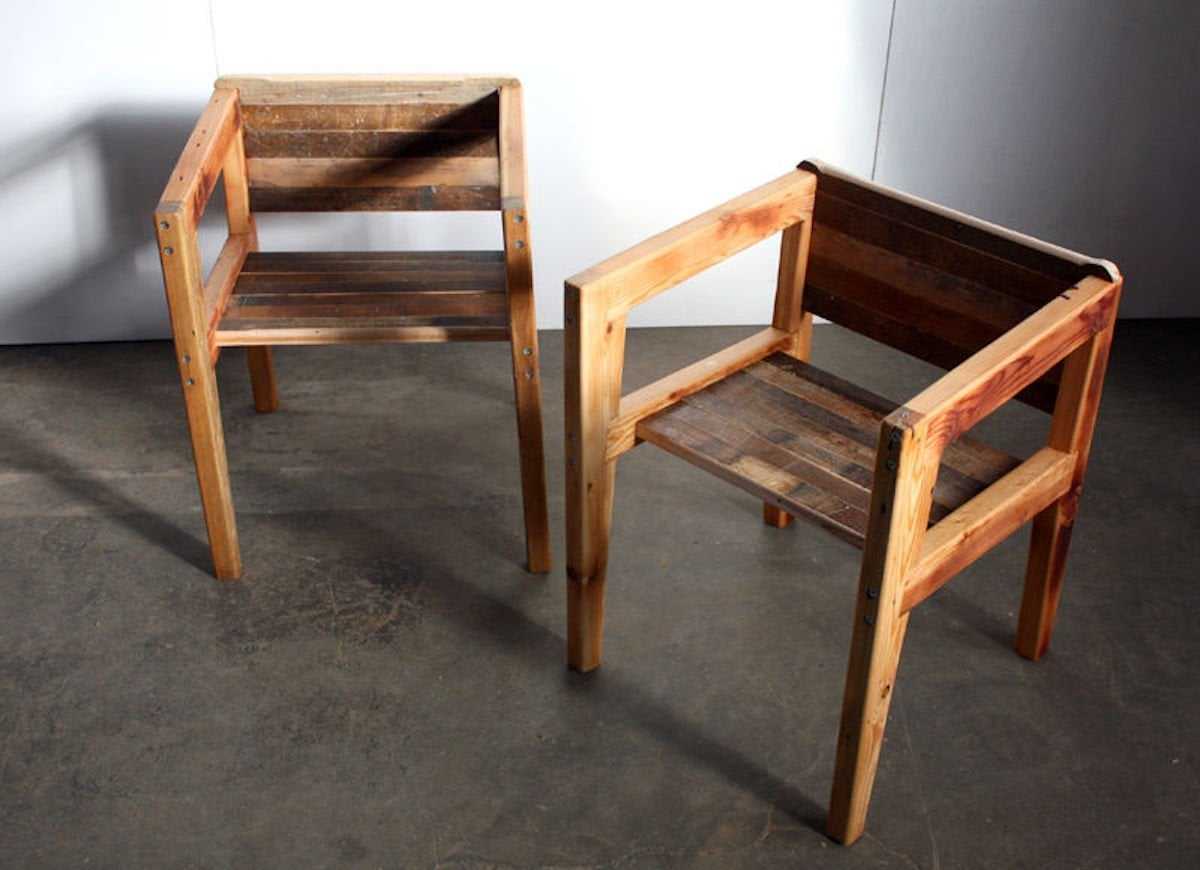 Instructables simple wood chair