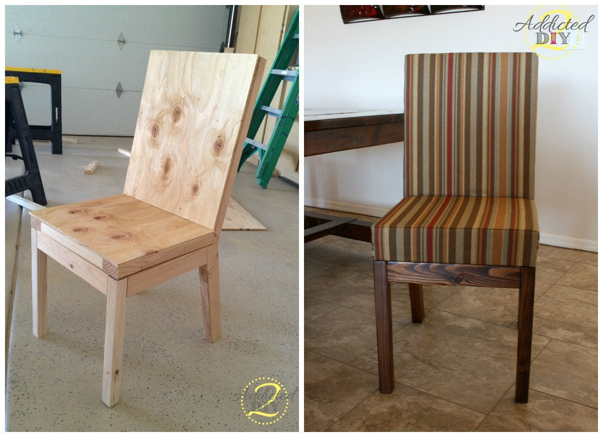 diy parsons dining chair diy chairs 11 ways to build