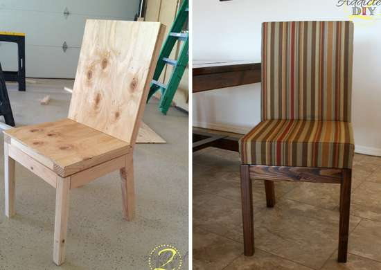 diy parsons dining chair diy chairs 11 ways to build your own