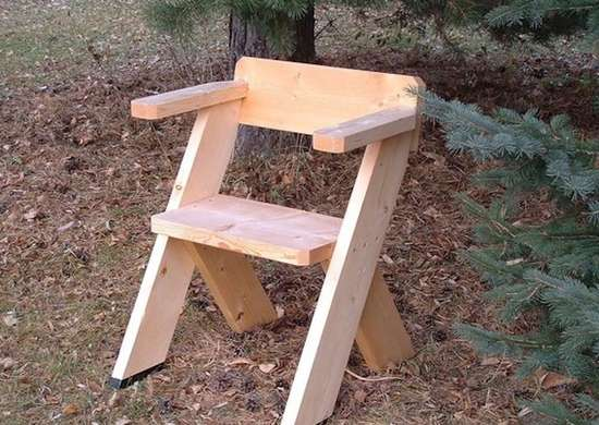 Instructables outdoor chair