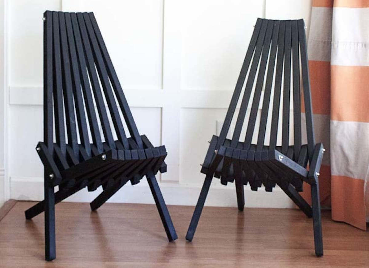 Diy stick chair