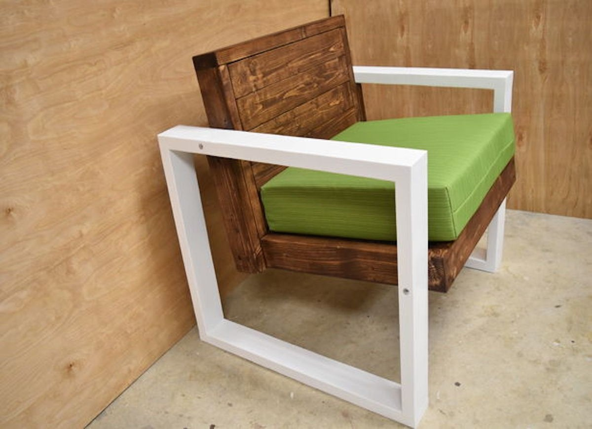 Instructables modern chair