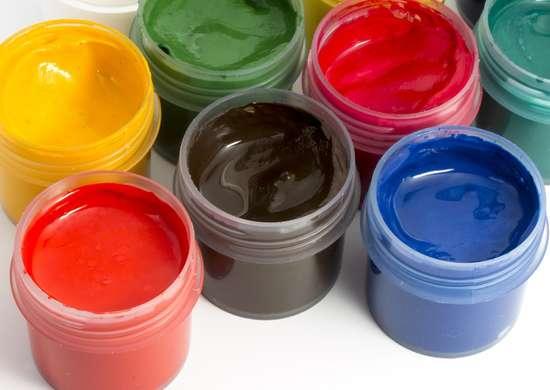 Model Paint Jars