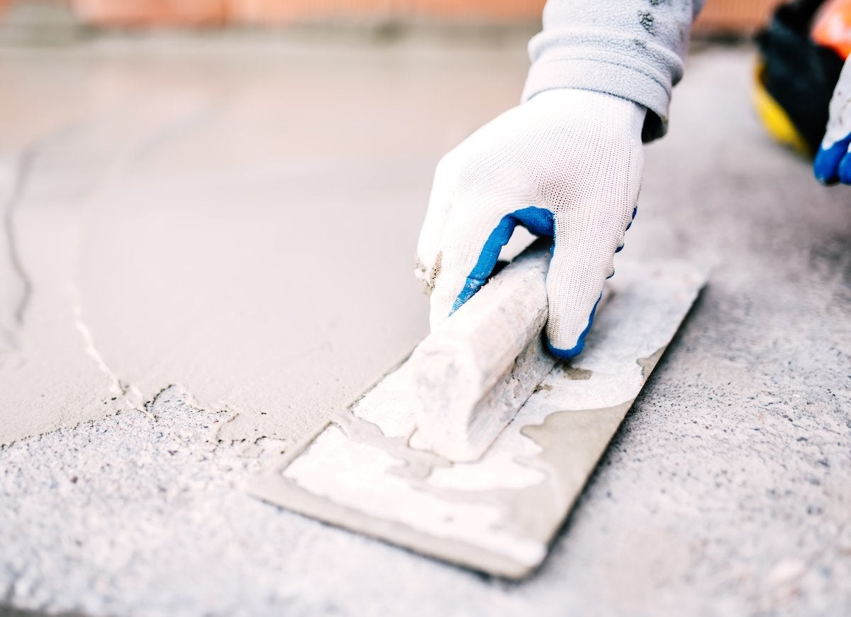 Patching concrete