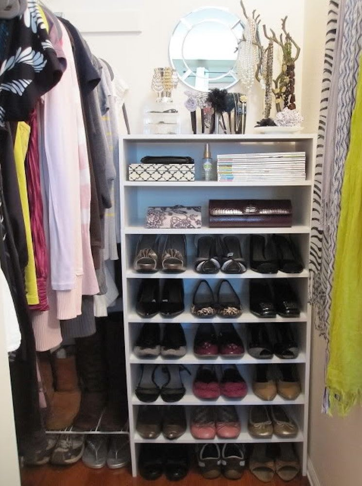 Shoe storage solution