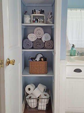 Bathroom-linen-closet
