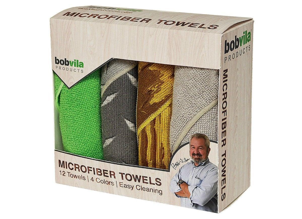 Bob vila products microfiber towels