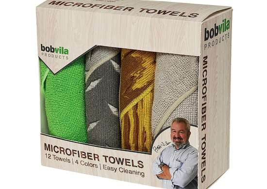 Bob Vila Products Microfiber Towels