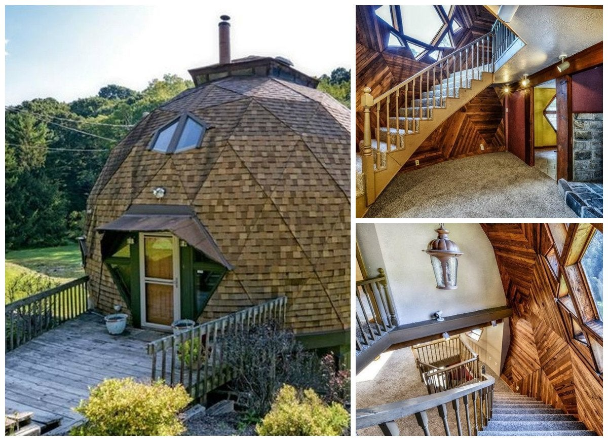 Geodesic Dome Homes 14 Houses That Are Anything But
