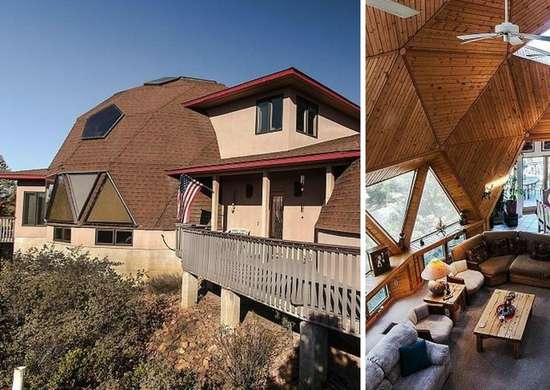 Geodesic Home In Payson, AZ
