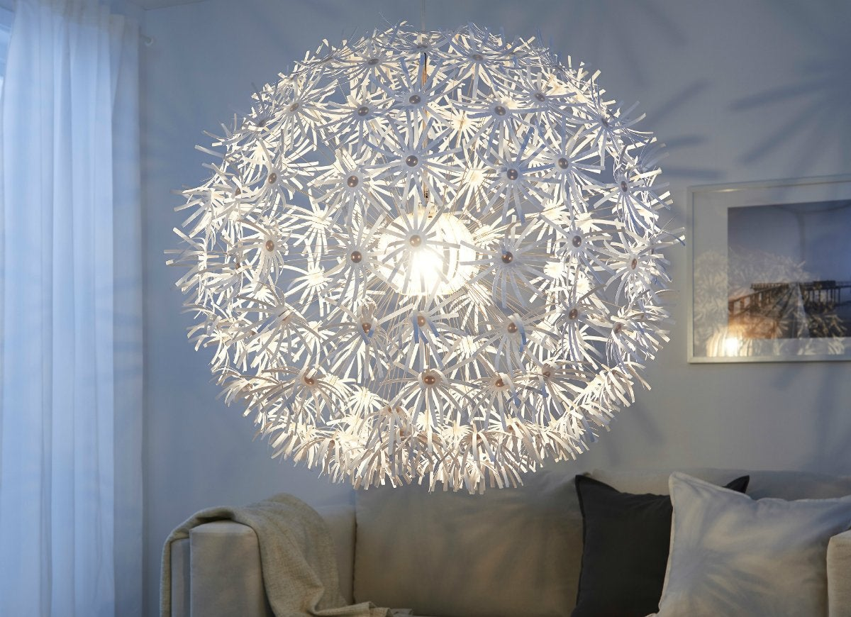 Ikea ps maskros pendant light