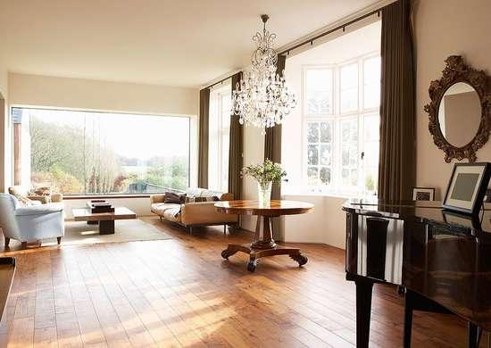 Radiant heat hardwood floor