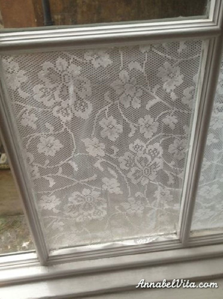 Lace window