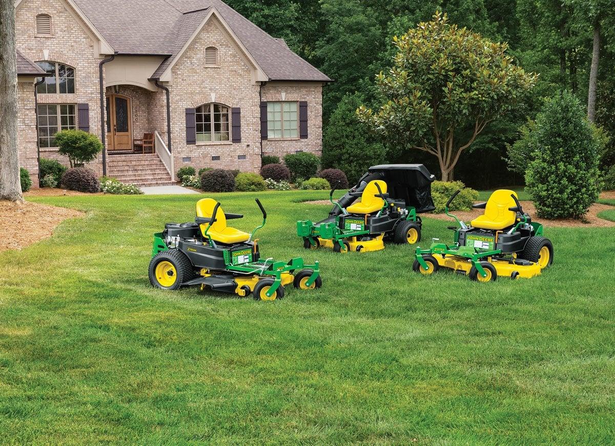 Mowers lawn