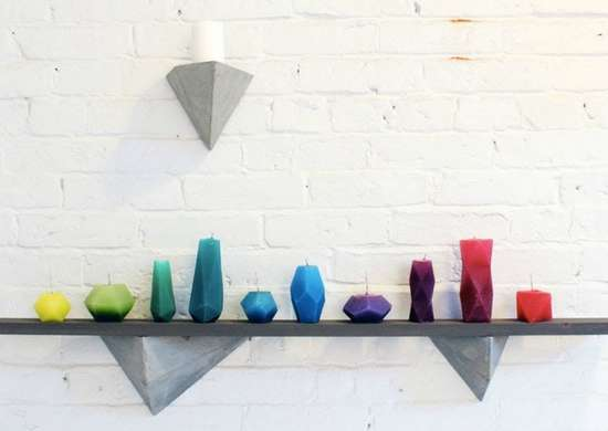 Concrete shelf supports