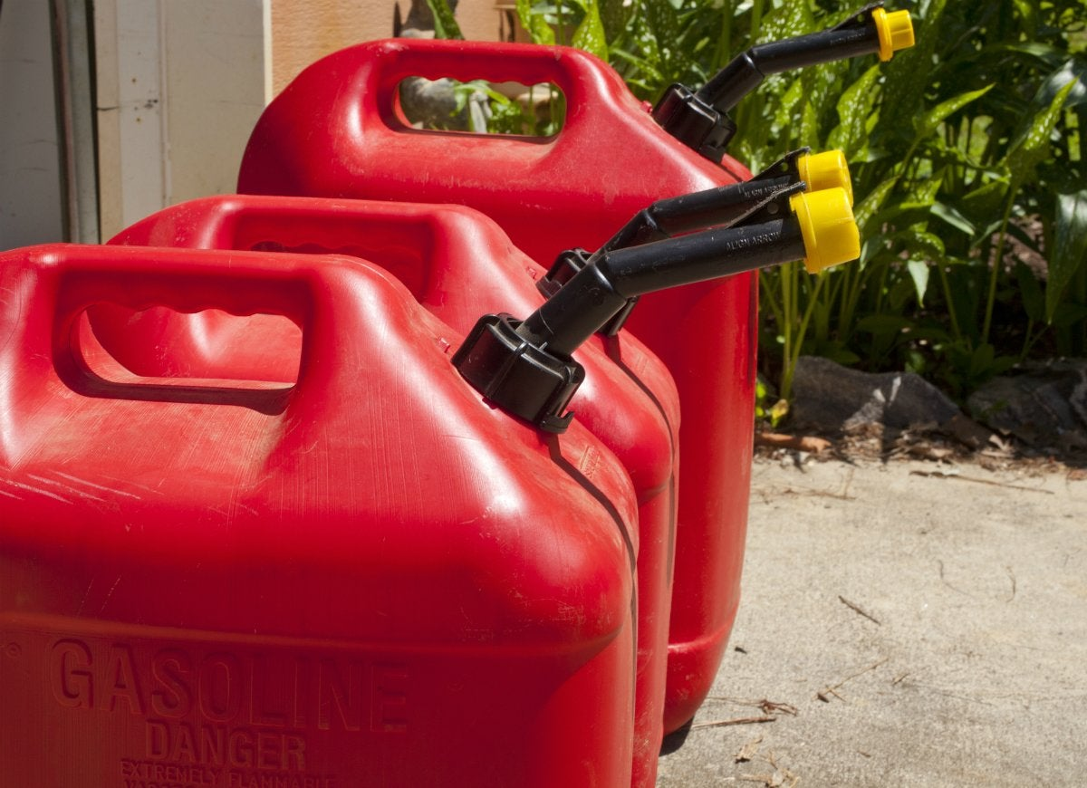 Gasoline storage safety