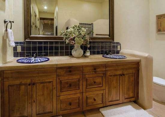 Ornate sink basin