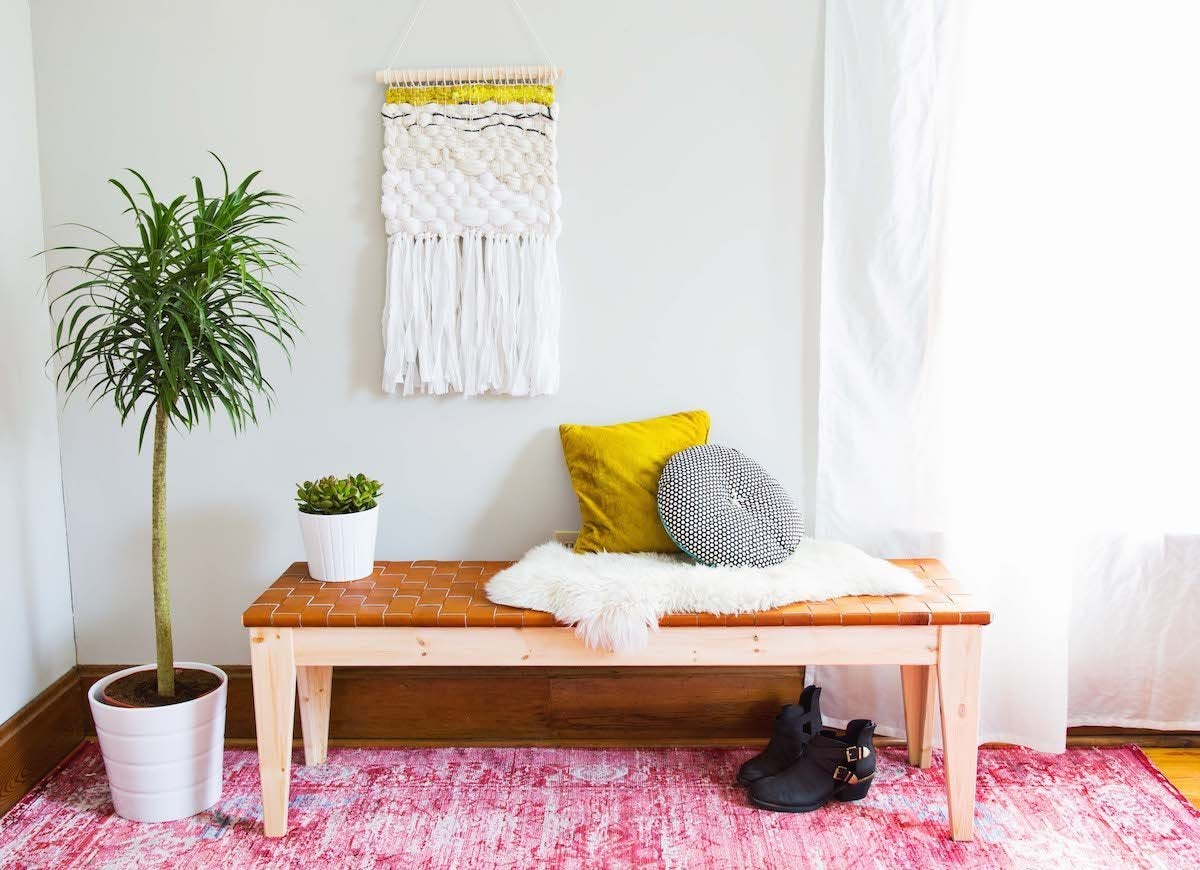 Diy Benches 12 Designs For Your Entryway Bob Vila