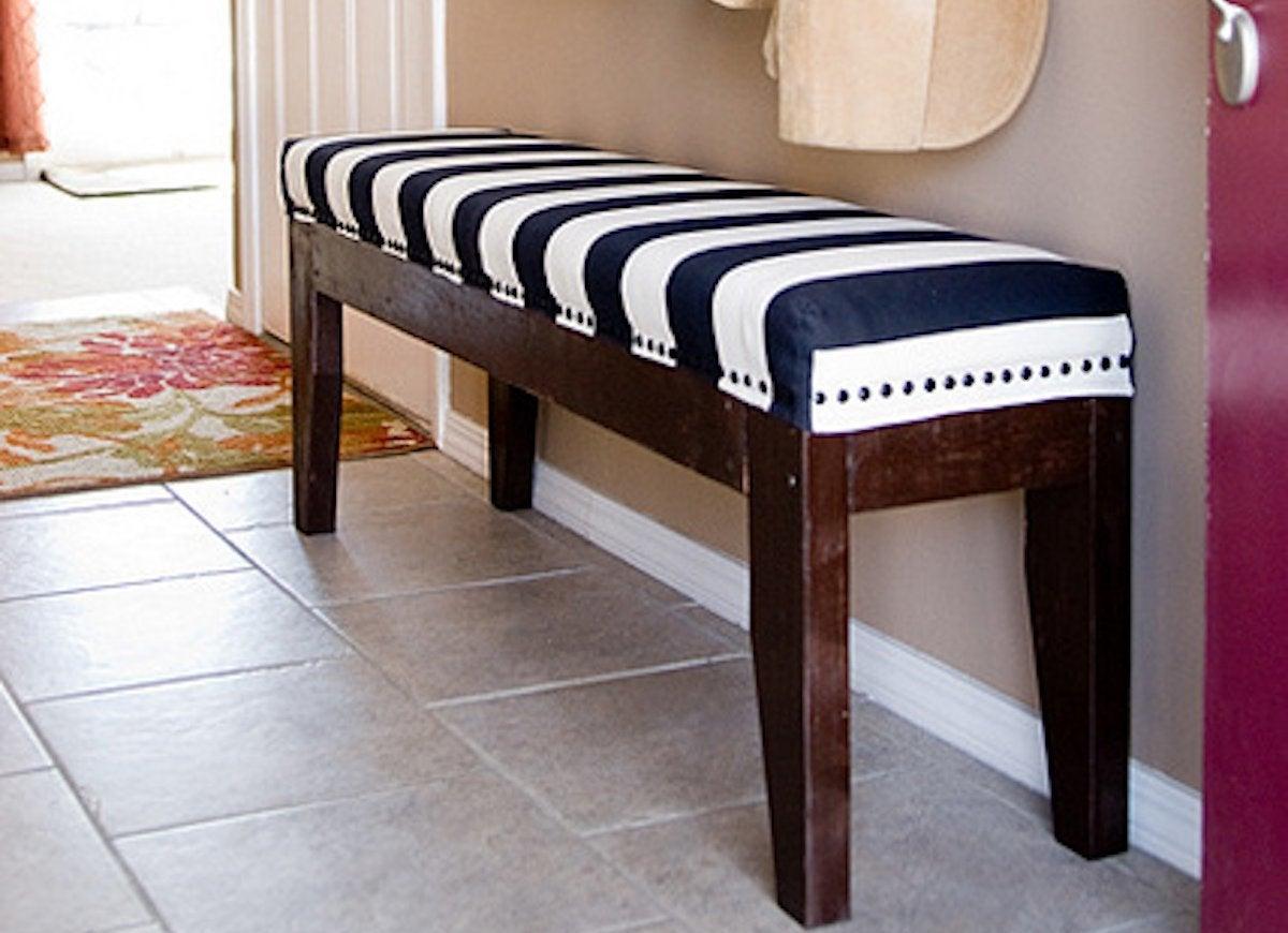 Upholstered diy bench