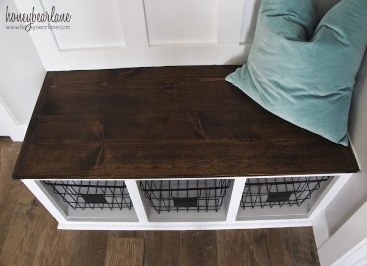 Diy Mudroom Bench