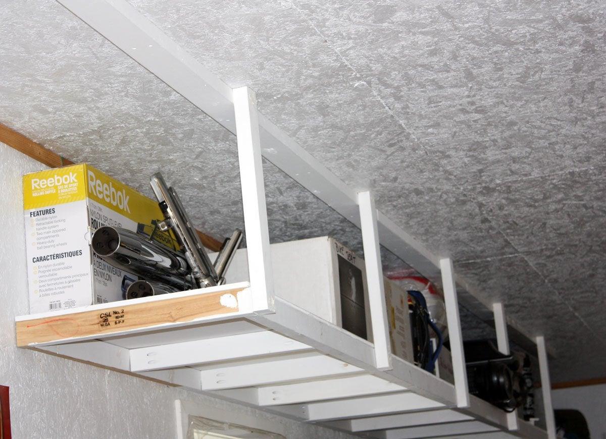 Overhead storage