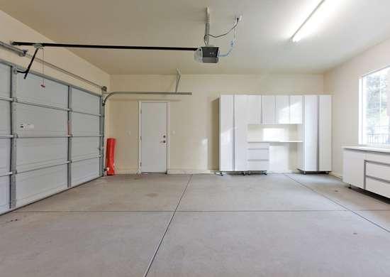Garage cement