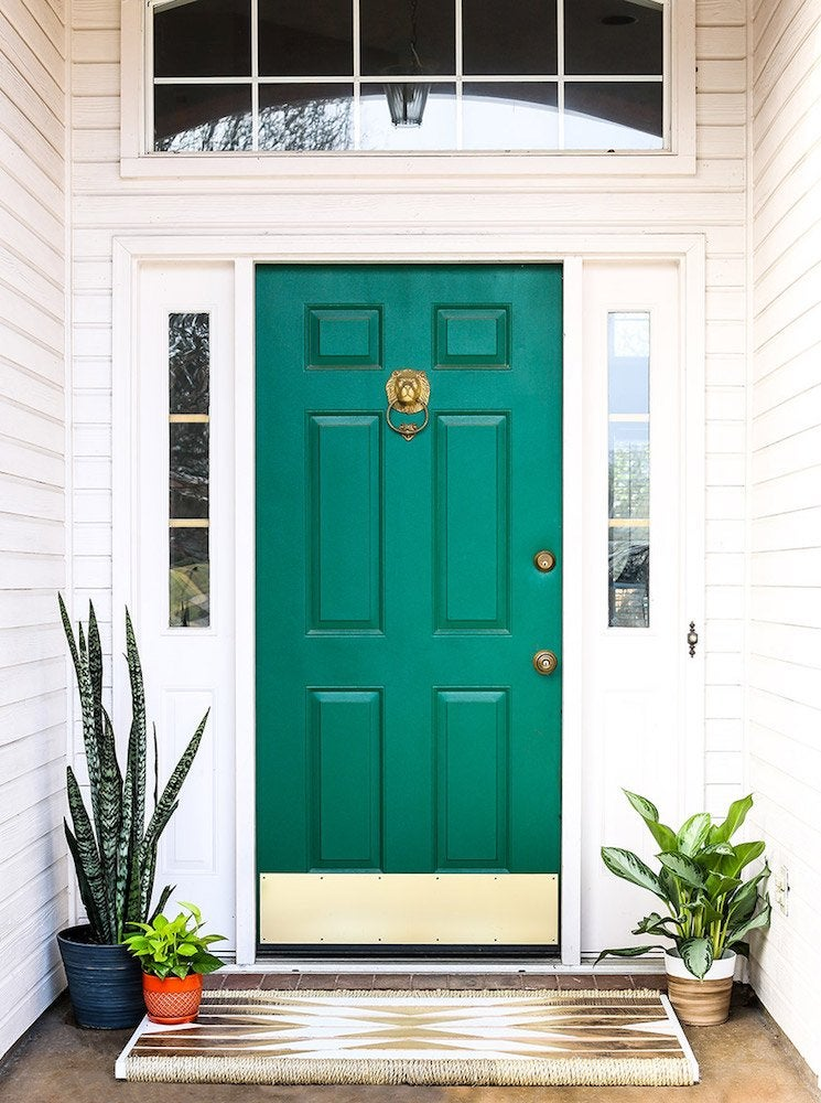 Green front door & 11 Front Door Designs to Welcome You Home - Bob Vila