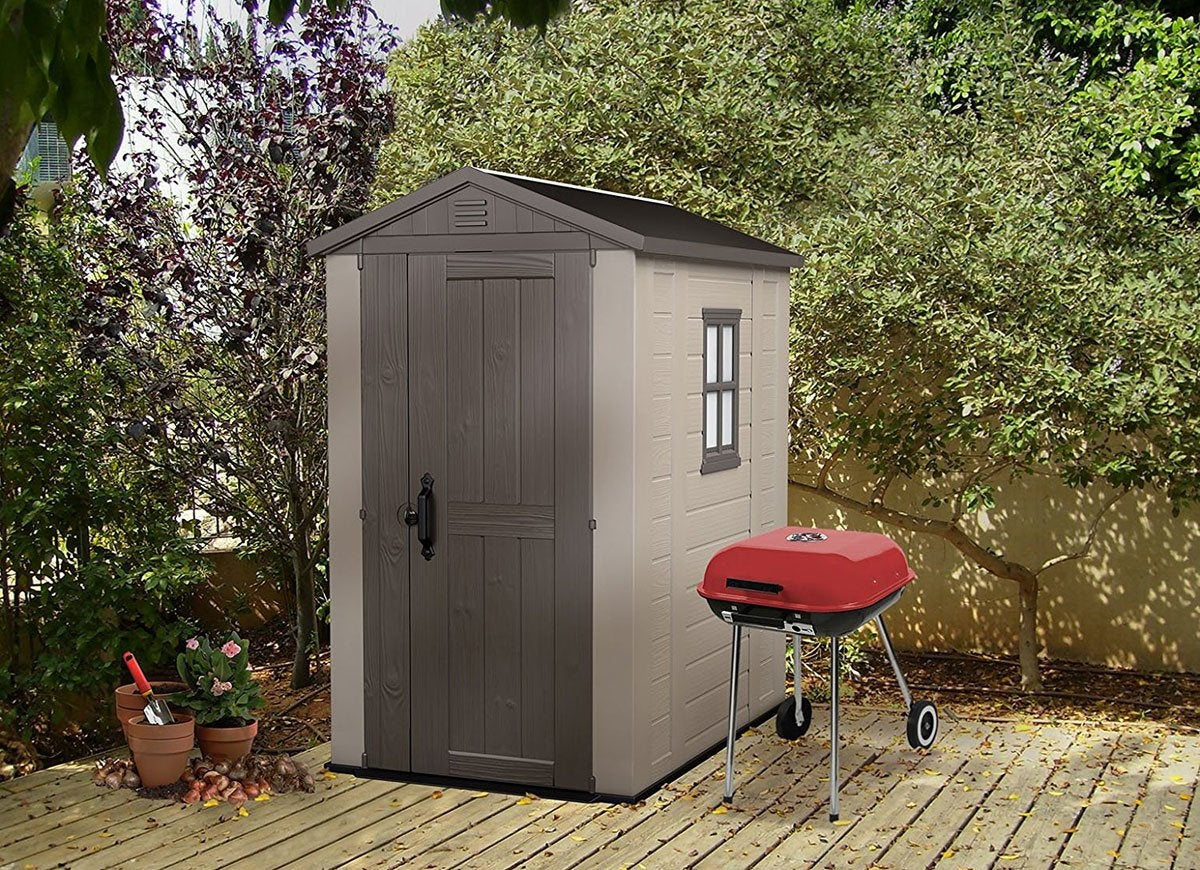 Keter factor backyard small shed