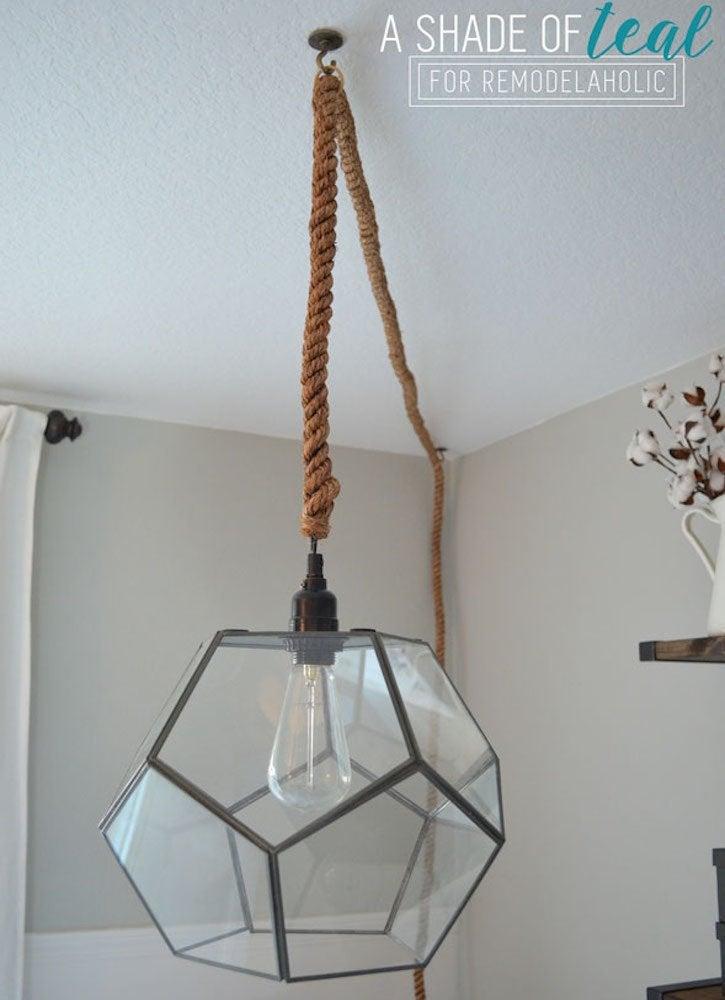 Remodelholic terrarium pendant light