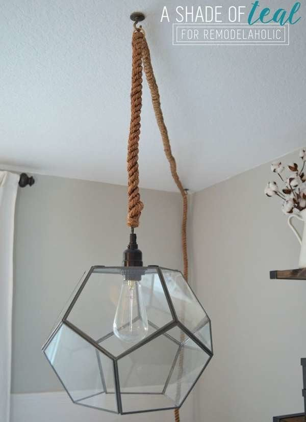 5 x industrial ceiling light table feature antique style bulb