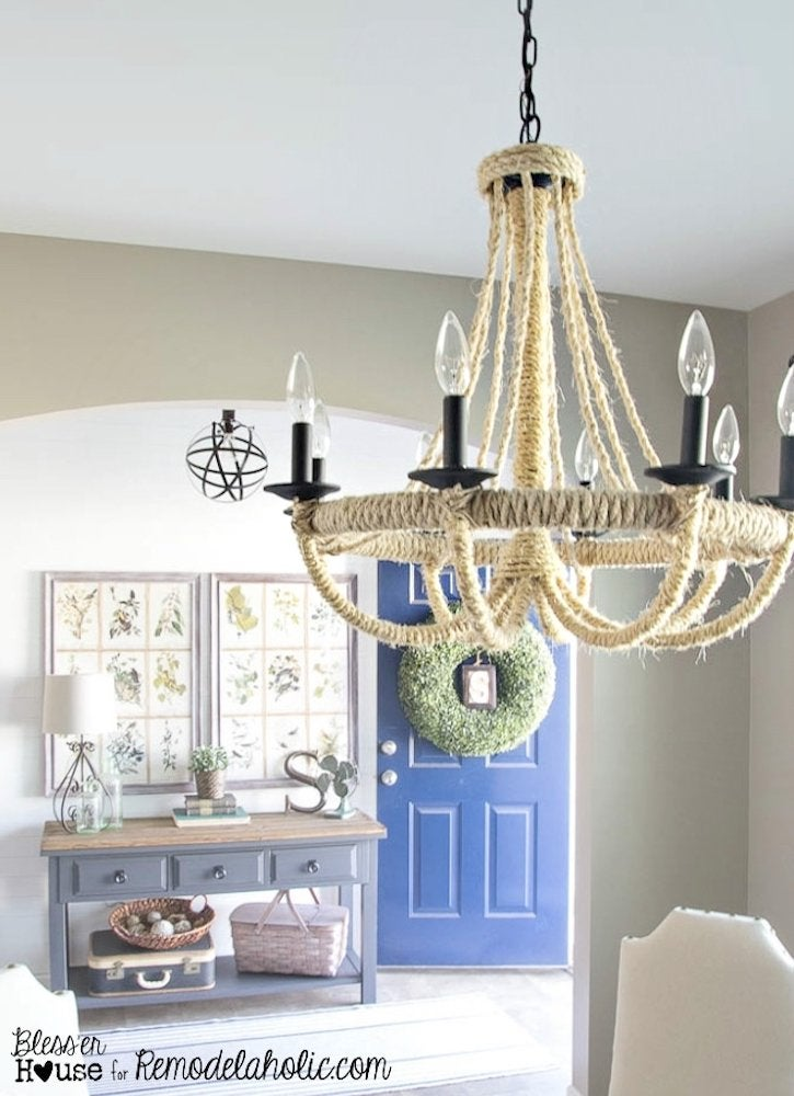 Blesserhouse rope chandelier