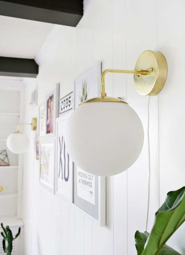 How To Hang Plug In Pendant Light