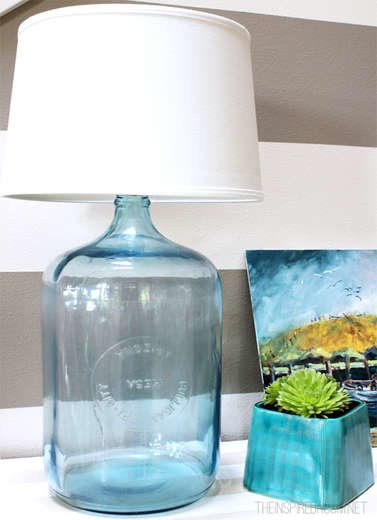 Inspiredroom bottle lamp