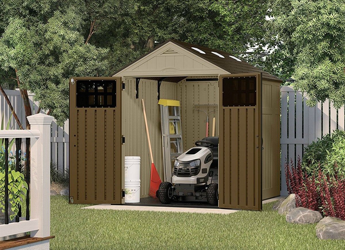 Suncast 6x8ft everett storage shed