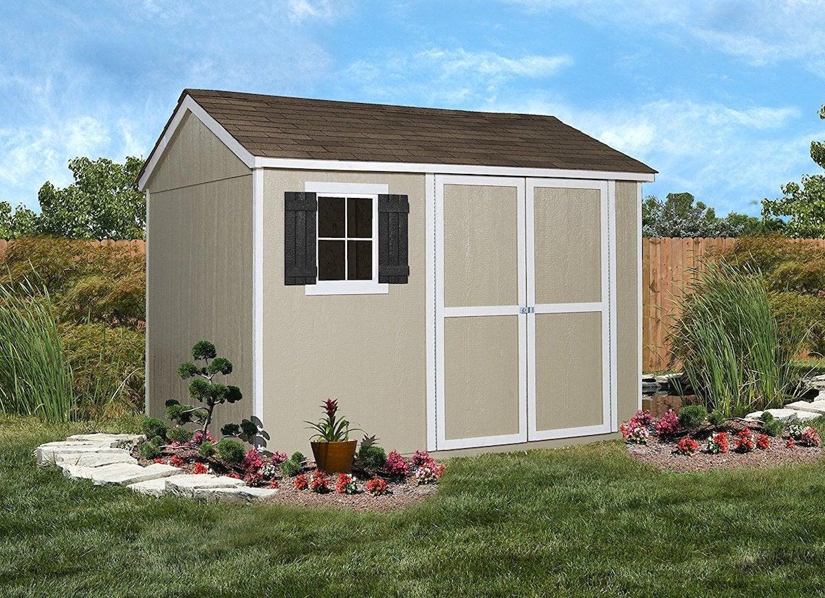 shed handy storage wooden sheds avondale backyard production slide bobvila